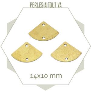 Achat connecteur eventail laiton brut