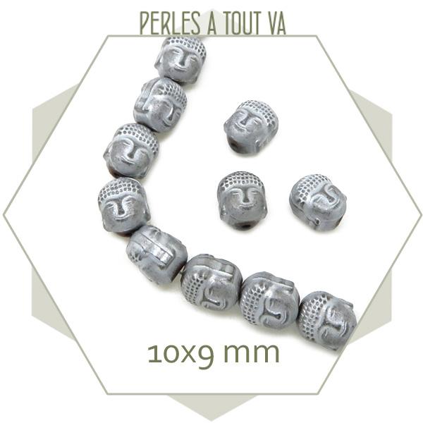 Fournisseur perles bouddha hématite
