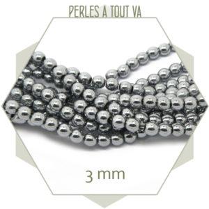 Vente perles hématite en gros