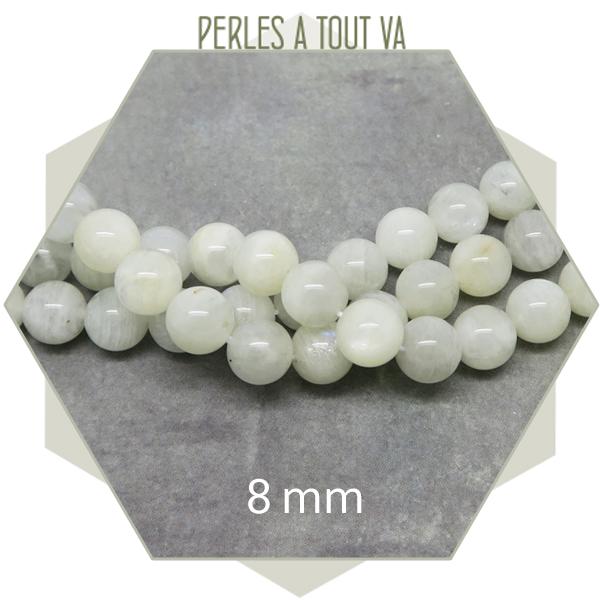 Vente perles pierre de lune en gros