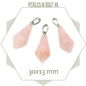 Vente pendentif quartz