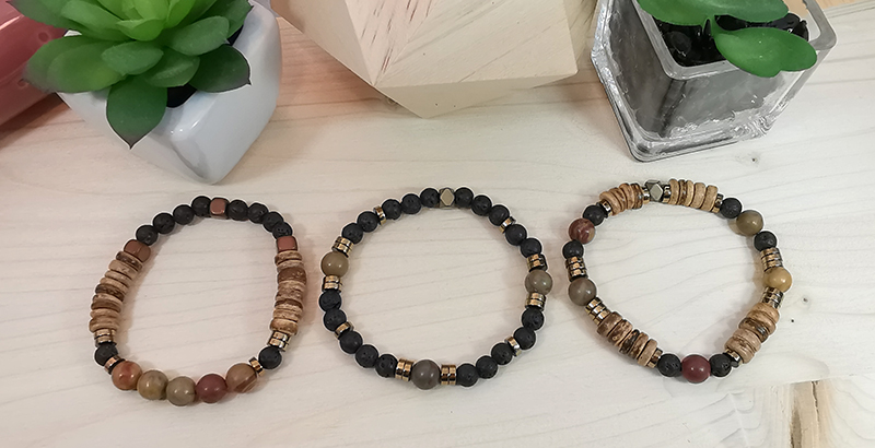 Tuto bracelet en pierre naturelle