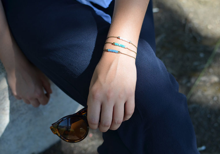 inspiration bracelet en perle jade