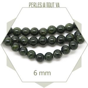 Vente perles pierre naturelle jade