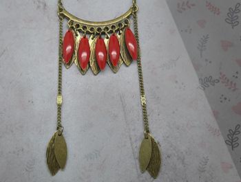 Idée création collier bronze