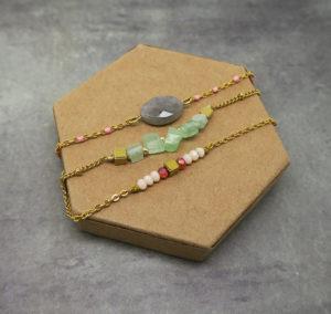 explication montage perles sur chaine