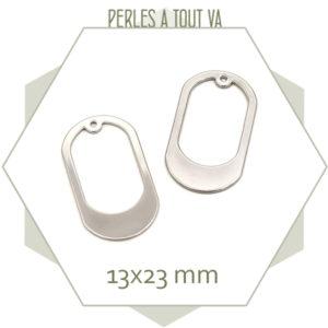 breloque ovale pour bijoux