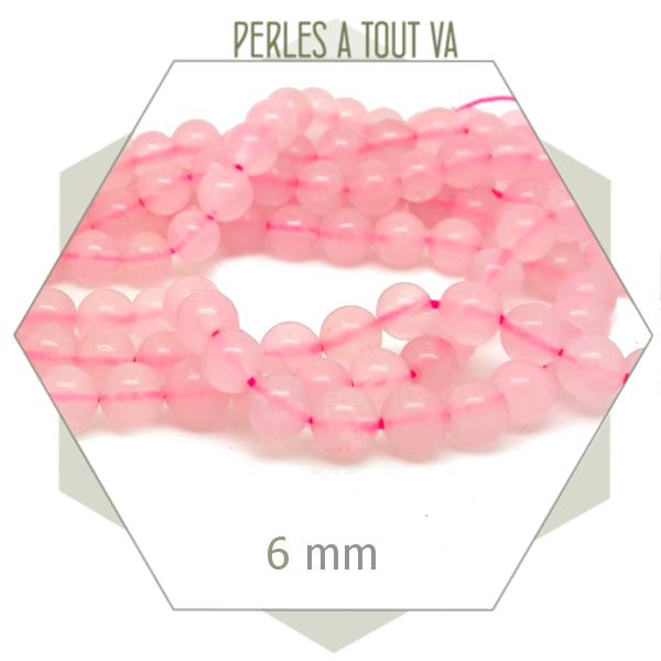 vente perles rondes 6mm en gros