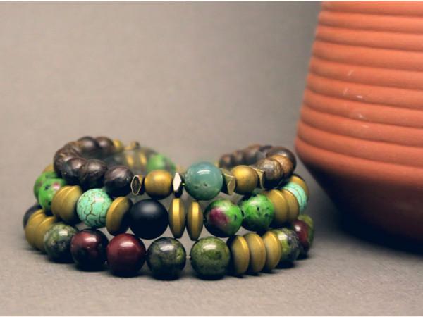 modèle bracelet pierre naturelle