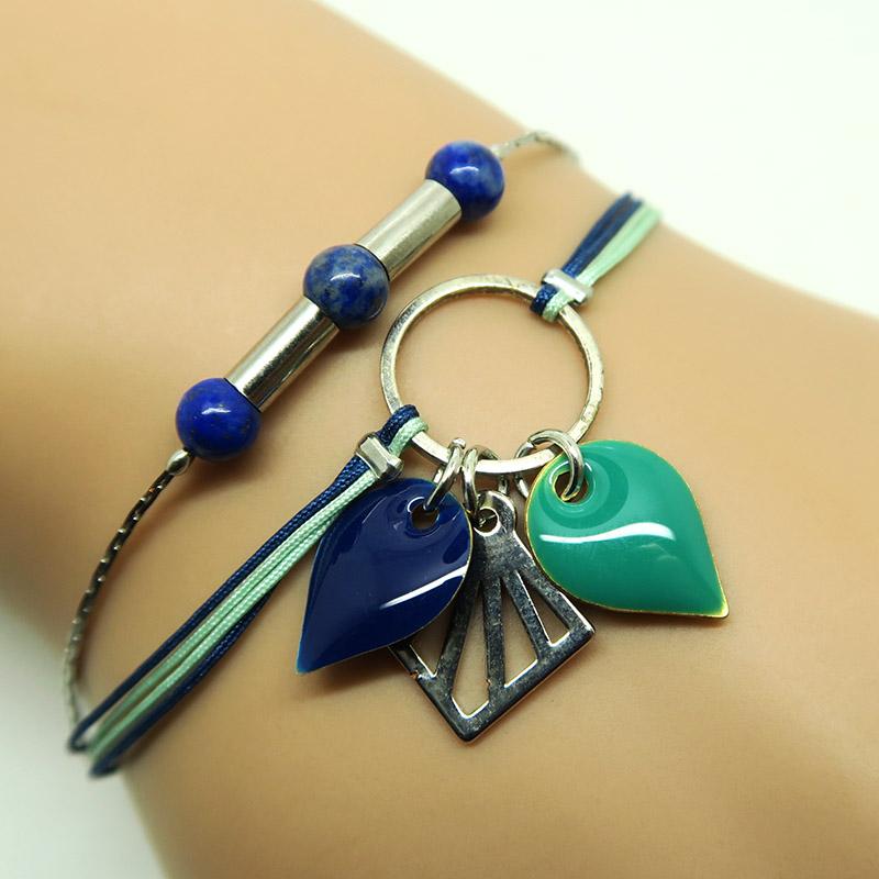 Création DIY bracelet cordon