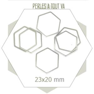 grossiste anneaux hexagone acier