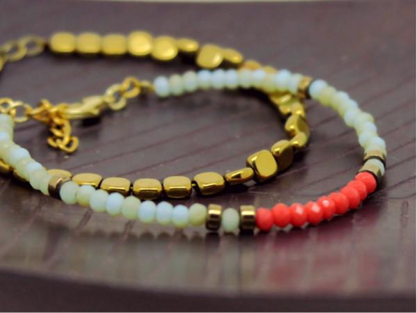 bracelet perles donut