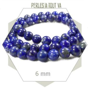 vente lot perles lapis lazuli