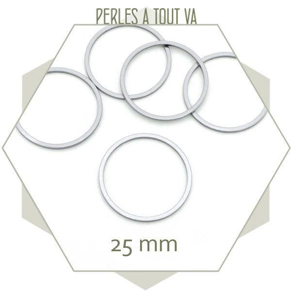 breloque anneaux ronds
