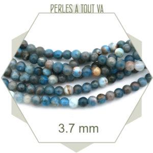 Bijou en perles apatite