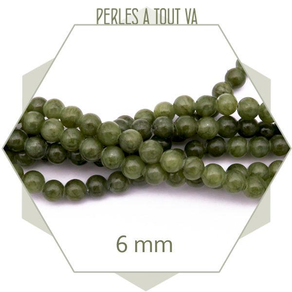 perles jade ronde en gros