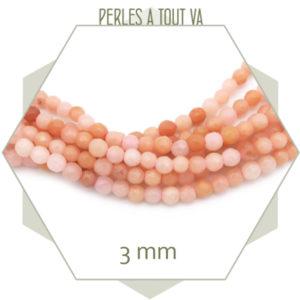 perles à facette en quartz
