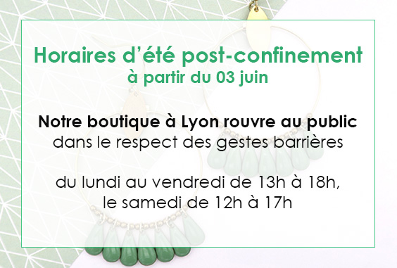horaire boutique post confinement
