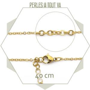 grossiste collier dore
