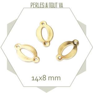 fournisseur connecteur ovale doré