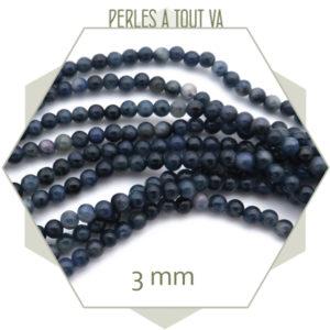 achat perles ronde pierre sodalite