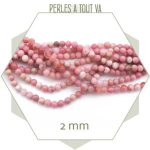 vente perles rhodonite en gros