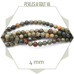 fournisseur perles jaspe en gros