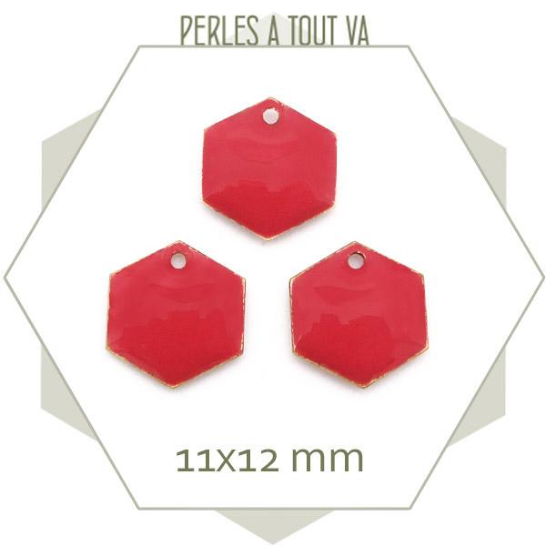 Fournisseur sequins émaillés hexagone