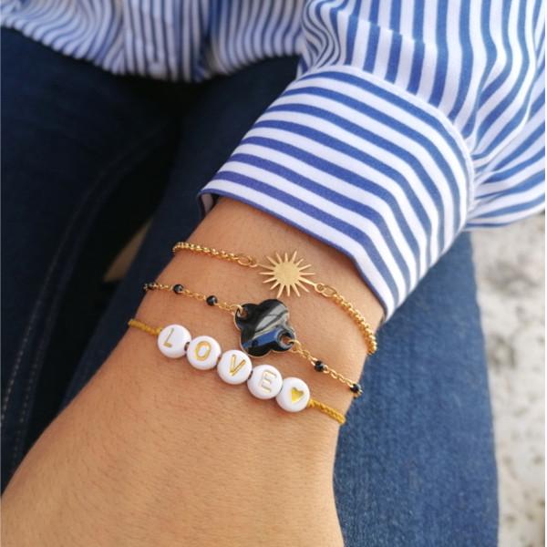 inspiration création bracelets fins