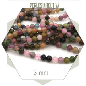 vente perles tourmaline