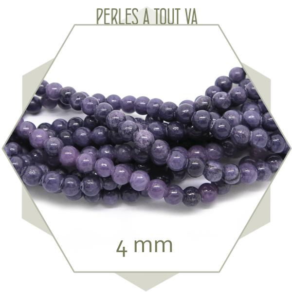 fournisseur perles jade violet
