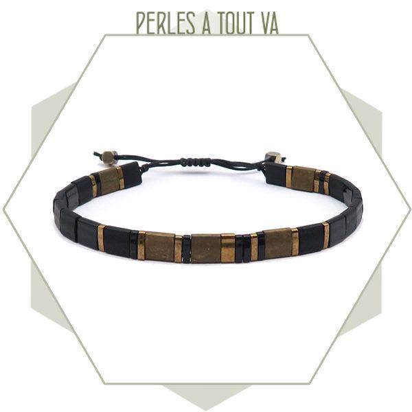 création bracelet tila noir
