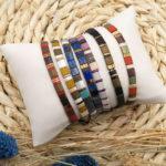 Kit bracelets perles tila DIY