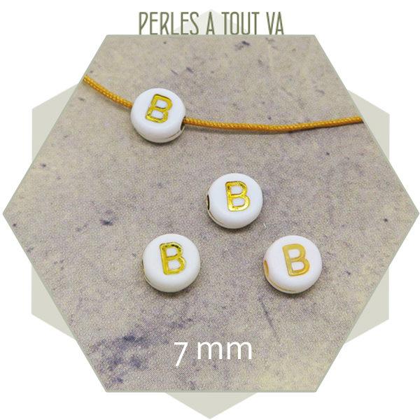 Vente en gros perles lettres B