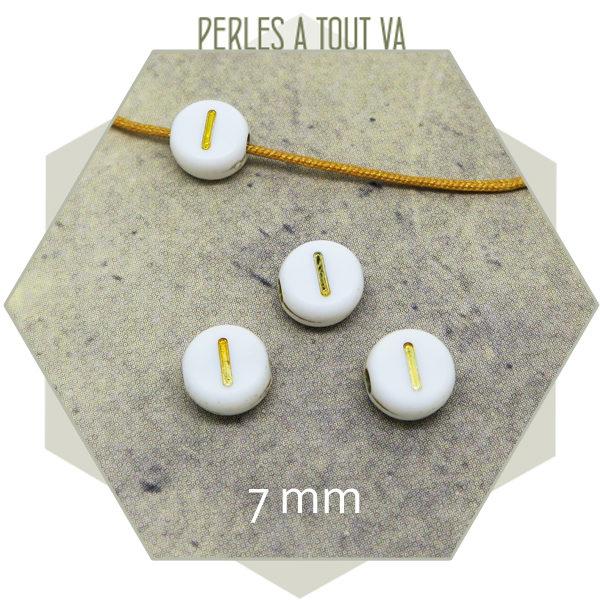 Grossiste perles alphabet I