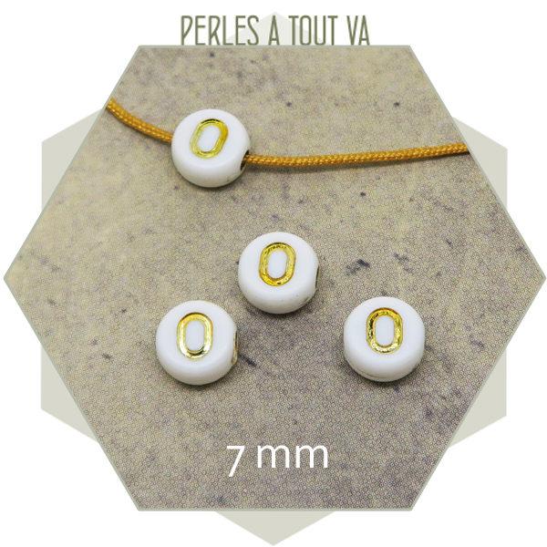 Vente en gros perles alphabet O