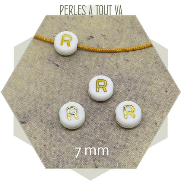 Vente en gros perles alphabet R