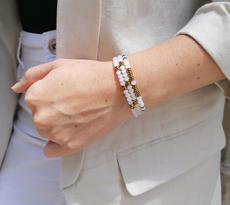 idée création bracelet 3 tours