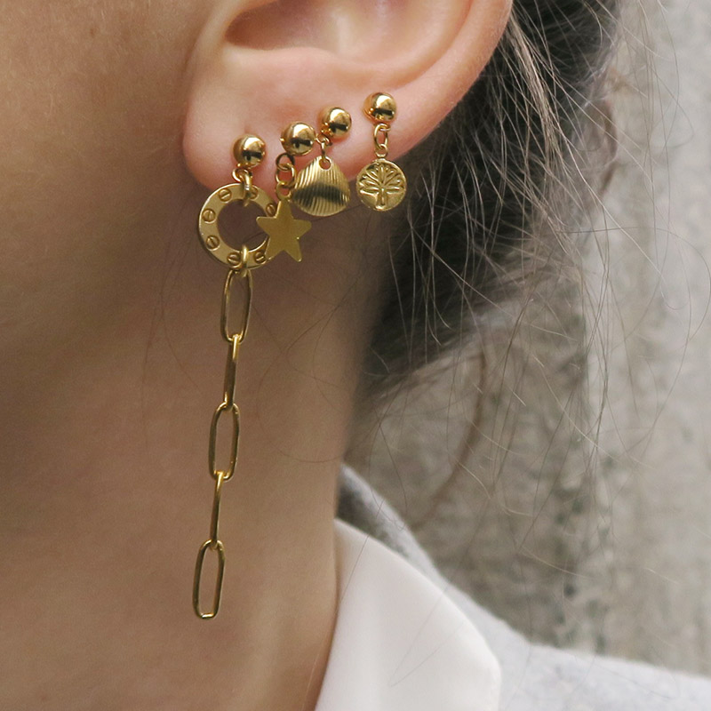stacking boucles d'oreilles