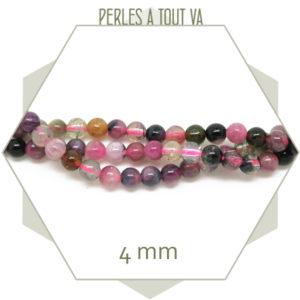 rang de perles de tourmaline