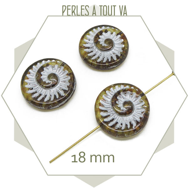 Grossiste perles tchèque en verre