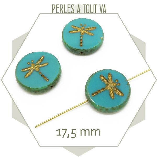 Achat perles Tchèque en verre