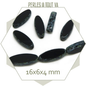 Grossiste perles tchèque ovale