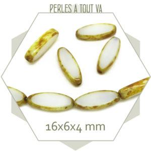 Perles tchèque ovale en gros