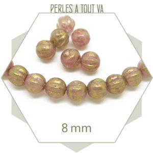 Vente perles rondes en verre