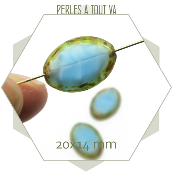 Vente de perles tchèque en verre