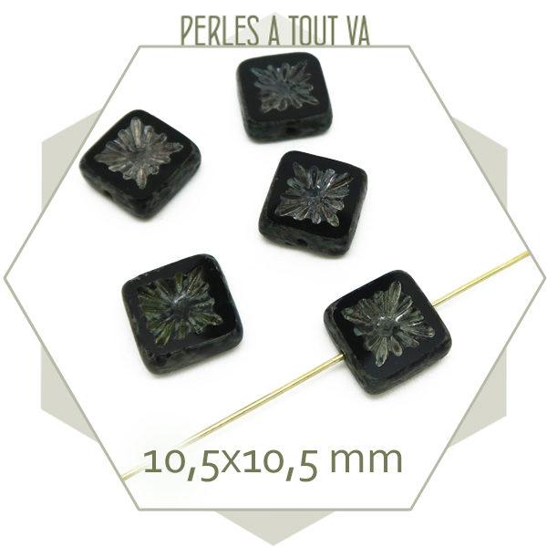 Création bijoux perles tchèque