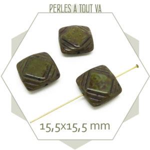 Perles tchèque pour bijoux fantaisie