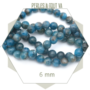 créer un bijou avec des perles apatite
