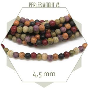 Achat en gros perles en bois multicolore